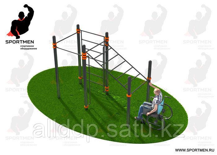 Спортивный комплекс, адаптированный для инвалидов-колясочников СВС-124