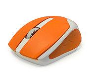 Мышь CBR CM 422 беспроводная, оптическая, 1600 dpi, 2,4 GHz, оранжевый