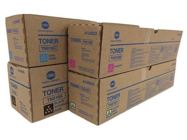 Тонер-картридж TN 616 K-L Konica Minolta для Bizhub PRO C6000L