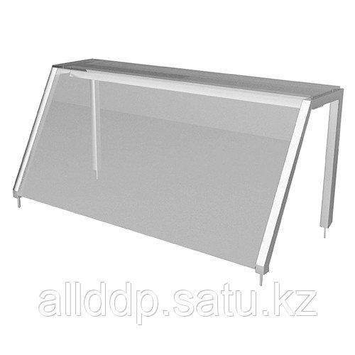 Полка настольная Gastrolux ПН-053/Н(500х300х400 мм, стекло наклонное)