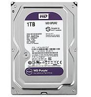 Жесткий диск HDD 1Tb Western Digital Purple, SATA-III, 3,5 IntelliPower 64MB (WD10PURZ)