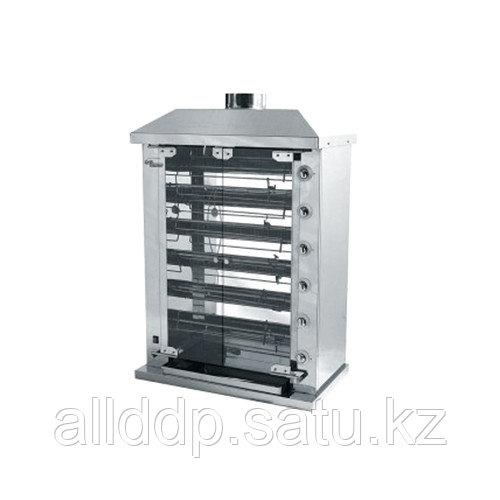 Гриль газовый шампурный Ф6У2Г (950x570х1290 мм, 220В, 21кВт, масса 122кг)