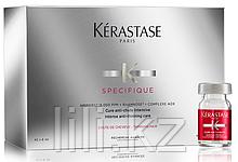 Ампулы против выпадения волос Kerastase SPECIFIQUE Cure Intensive Anti-Chute A L'Aminexil GL 42*6 мл.