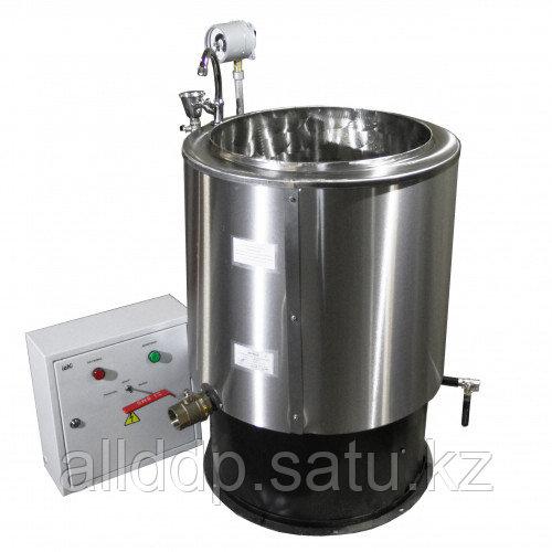 Котел электрический пищеварочный круглый стационарный КПЭ-60 нерж. (900х625х625мм, 60 л,9 кВт,380В)