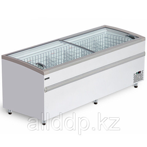 Ларь бонета морозильная V=800л. BFG 1850 серый. (+10 до 0…..-18 до -25 С,1855х860х830мм,7,5кВт,220В)