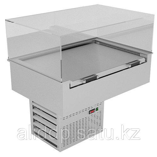 Витрина охлаждаемая встраиваемая Gastrolux ВСВ-127/MOR (1200х700х975 мм, 0,55 кВт, 220 В)