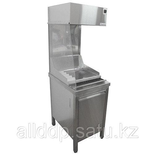 Мармит для картофеля-фри пристенный с ванной Gastrolux МФ-067 (600х700х1700 мм, 1,5 кВт, 220В)
