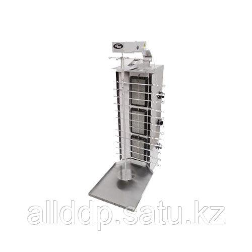 Шаурма-шашлычница газовая Ф3ШмГ (с мотором) (515х800х1270мм,11 кВт, масса 18кг)