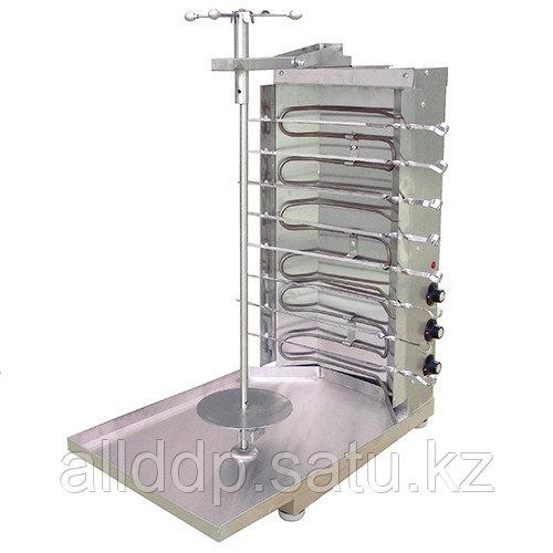 Шаурма электрическая Ф3ШМЭ (3 ТЭНа) ( 515х800х770мм, 220В, 7,5 кВт, масса 12кг)
