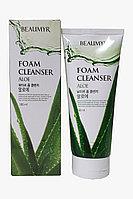 Beaumyr Освежающая и мягкая пенка для умывания с экстрактом алоэ Aloe Foam Cleanser / 180 мл.