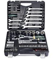 """ROCKFORCE Набор инструментов 82+6 предметов 1/4""""1/2""""(6гр.)+(головка-бита 1/4"""" T40; биты 5/16"""":"""