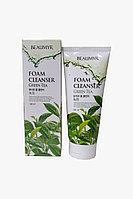 Beaumyr Освежающая и мягкая пенка для умывания с зеленым чаем Green Tea Foam Cleanser / 180 мл.