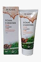 Beaumyr Освежающая и мягкая пенка для умывания с муцином улитки Snail Foam Cleanser / 180 мл.
