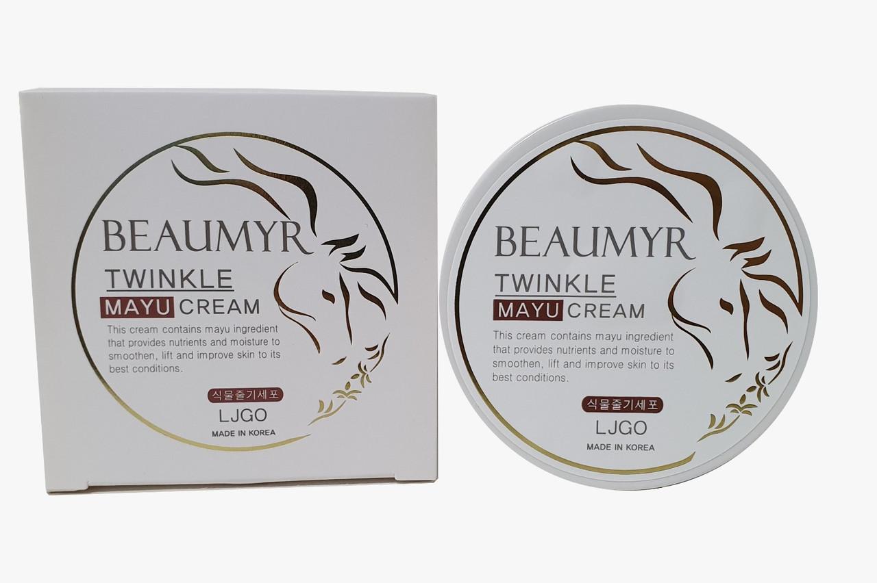 Beaumyr Питательный крем для лица с лошадиным маслом и ниацинамидом Twinkle Mayu Cream / 100 мл.