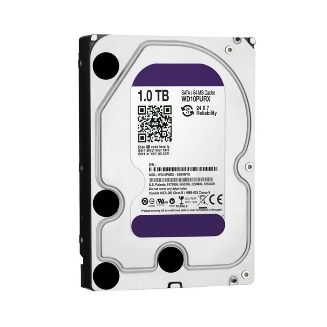 "Жесткий диск, Dahua, WD10PURX, HDD 1Tb, SATA 6Gb/s, 3.5"""