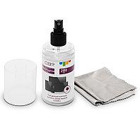 Чистящий комплект CBR CS 0061 для всех типов экранов (спрей), 200 мл, безворсовая салфетка из микрофибры в