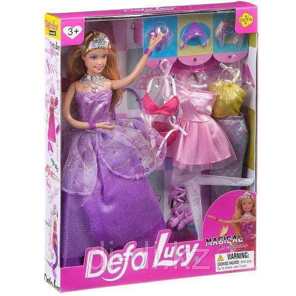 Кукла Defa с гардеробом 8269