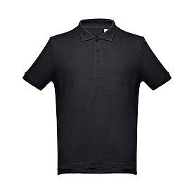 Рубашка поло мужская Adam, черная.