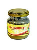 """Сладкая паста """"Иммунитет +"""" на основе меда и трав 220 г"""