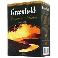 Greenfield чай черный Premium Assam, 100 гр