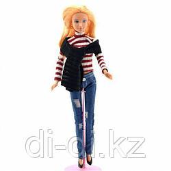 Кукла Defa  В джинсах + шарф 8366