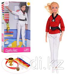 Кукла Defa  в костюме каратэ 8371