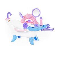 Ванночка для купания кукол с аксессуарами, Полесье