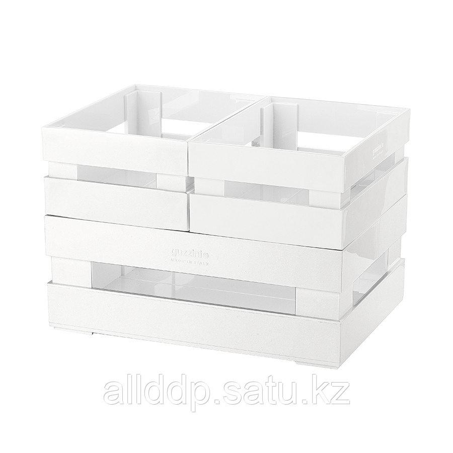Набор из 3 ящиков Tidy & Store белый