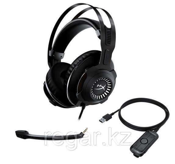 Наушники-гарнитура игровые HyperX HHSR1-AH-GM/G Cloud Revolver 7.1 черный