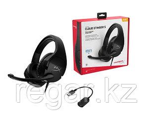 Наушники-гарнитура игровые HyperX HHSS1S-AA-BK/G Cloud Stinger S