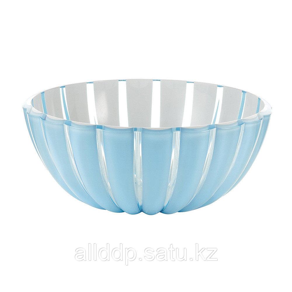 Салатница Grace 30 см голубая