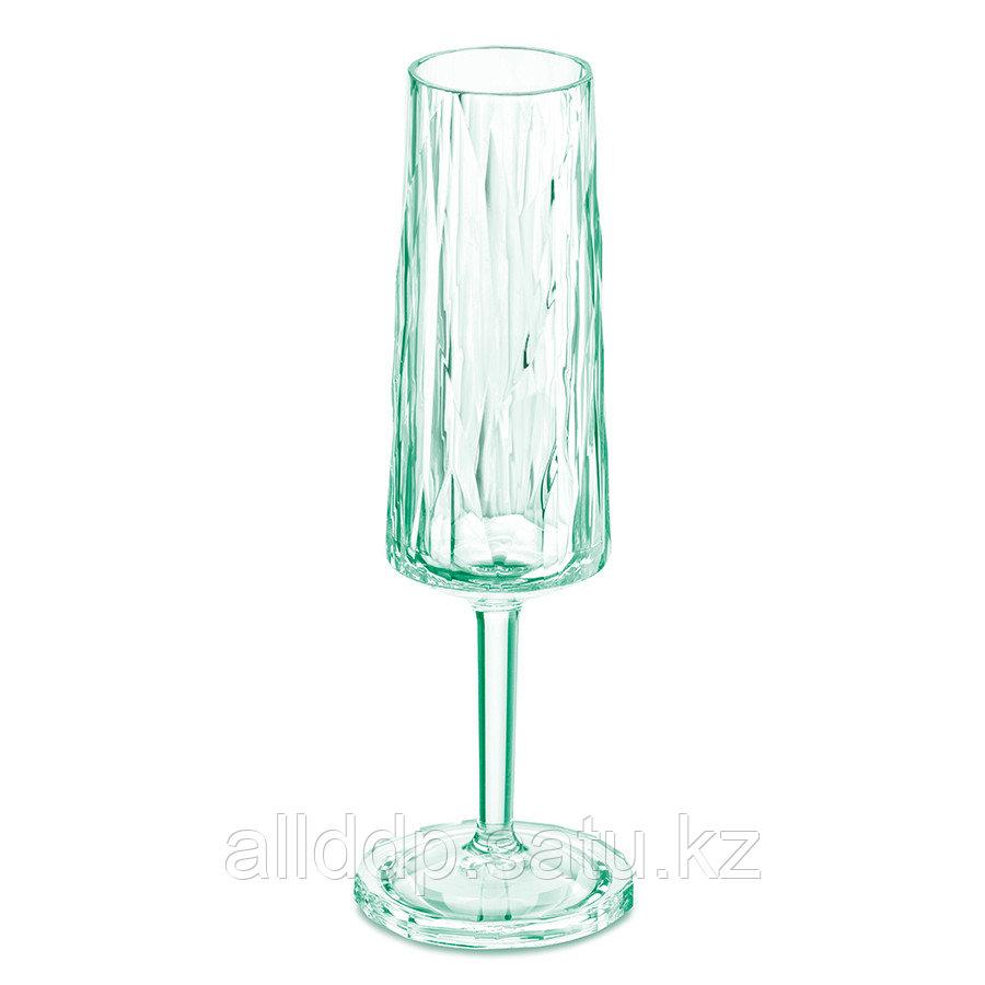 Бокал для шампанского Superglas CLUB NO. 5, 100 мл, мятный