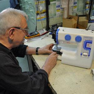 ремонт, монтаж и наладка швейного оборудования