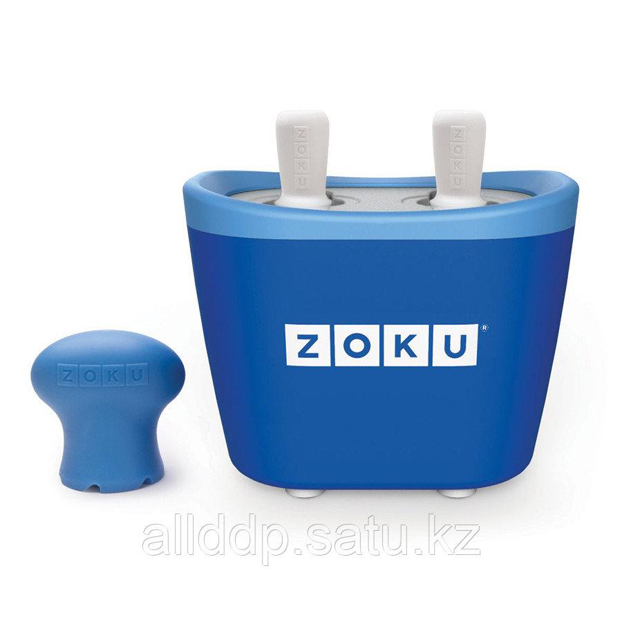 Набор для приготовления мороженого Duo Quick Pop Maker синий