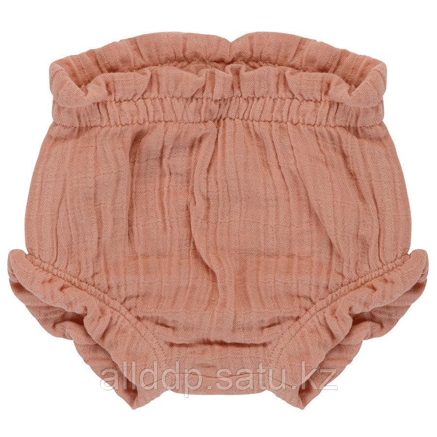 Шорты для новорожденных из хлопкового муслина цвета пыльной розы из коллекции Essential 6-9M