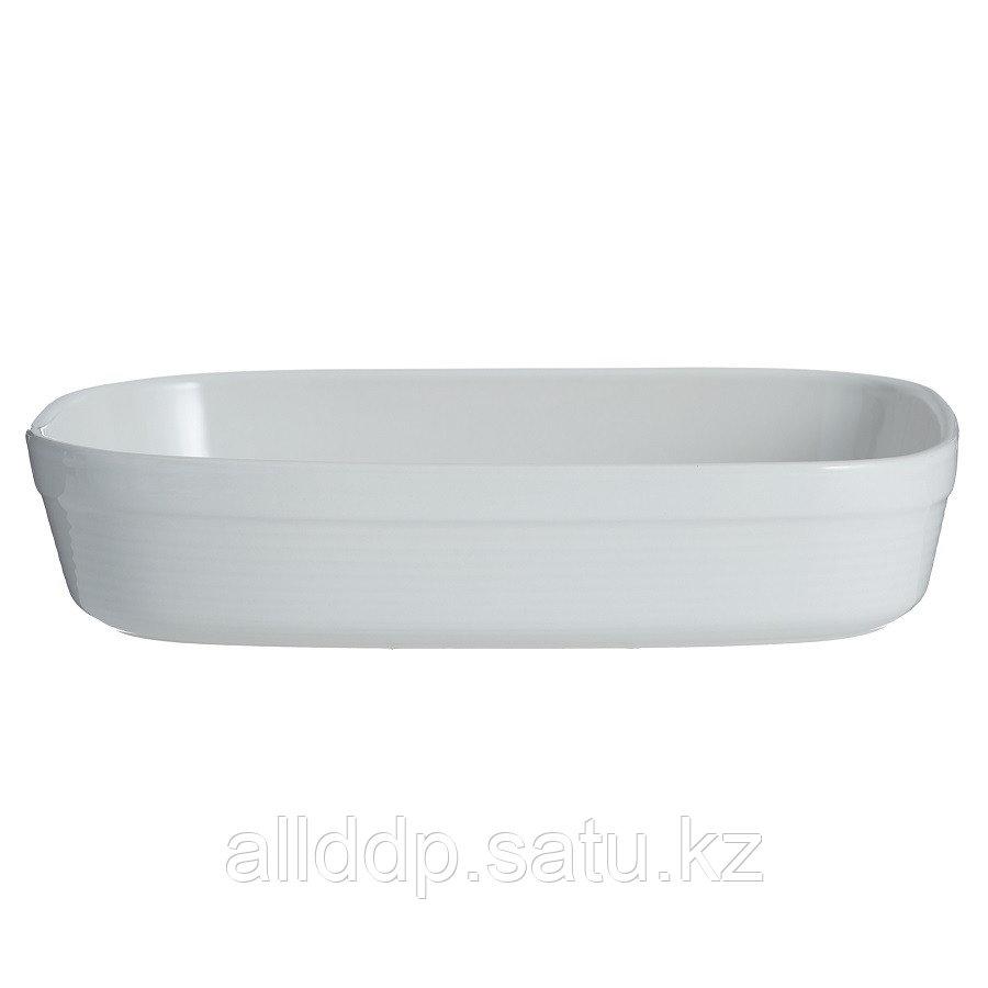 Блюдо для запекания William Mason прямоугольное 28 см белое