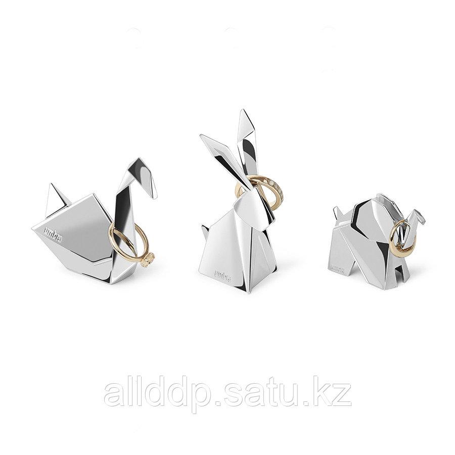 Подставки для колец Origami 3 шт. хром