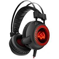 SVEN AP-U840MV Игровые наушники с микрофоном черный (USB, LED)