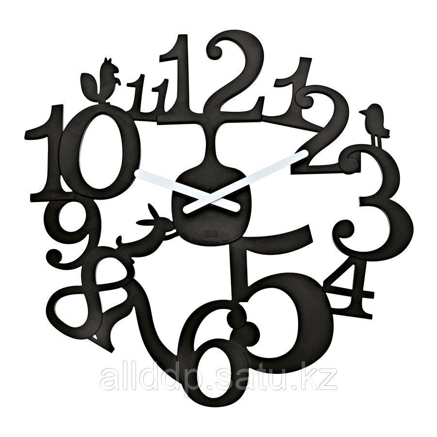 Часы настенные Pip, чёрные