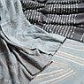 Покрывало из хлопка серого цвета с декоративной строчкой из коллекции Ethnic, 230х250 см, фото 4