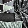 Покрывало из хлопка серого цвета с декоративной строчкой из коллекции Ethnic, 230х250 см, фото 10