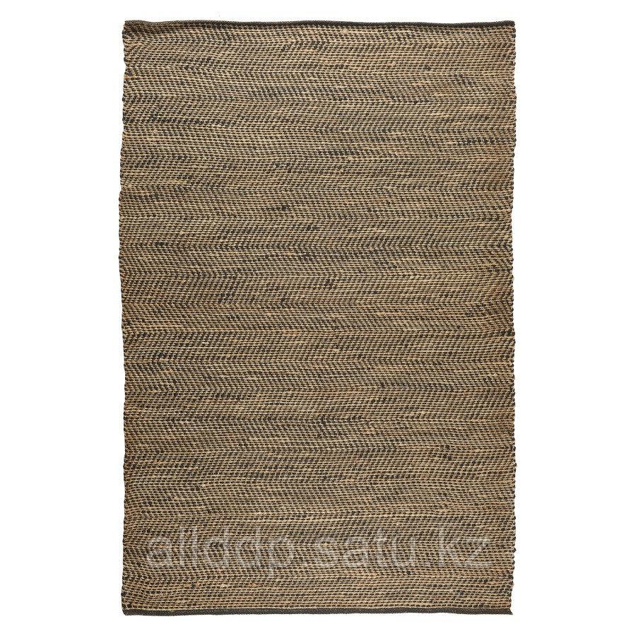 Ковер из джута с орнаментом Зигзаг из коллекции Ethnic, 160х230 см