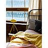 Пододеяльник изо льна горчичного цвета Essential, 200х200 см, фото 2