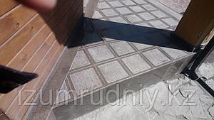 Гранитная  плитка с антискользящим эффектом