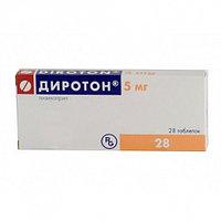 Диротон 5 мг №28 таб