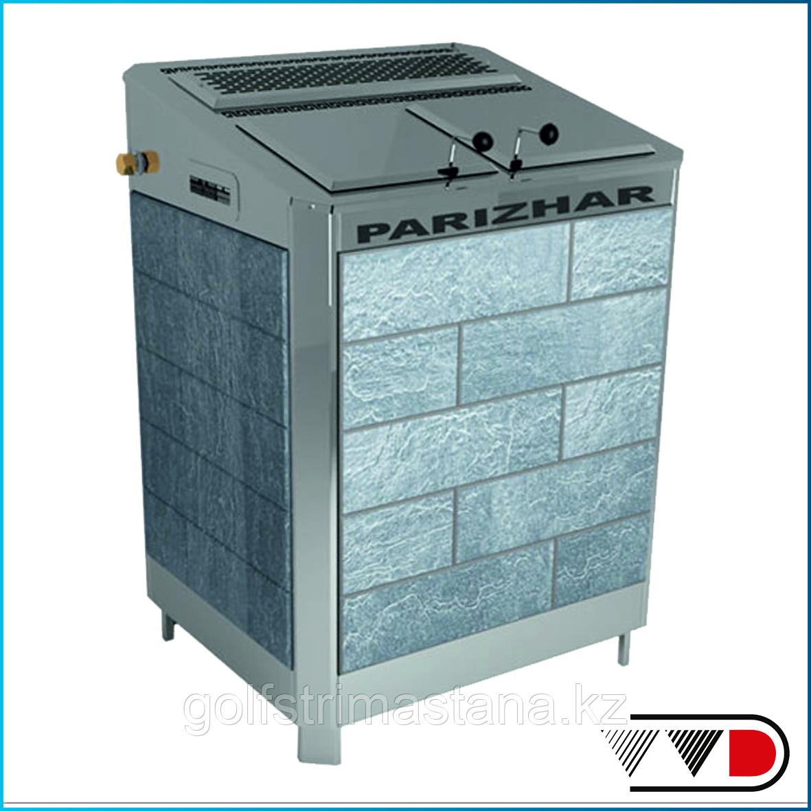 Электрическая паротермальная печь «ПАРиЖАР» 18 / 24 кВт (380 В) облицовка из природного камня