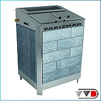 Электрическая паротермальная печь «ПАРиЖАР» 18 / 24 кВт (380 В) облицовка из природного камня, фото 1