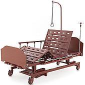 Кровать медицинская Med-Mos E-31 (ММ-3024Н-00) ЛДСП, 3 функции