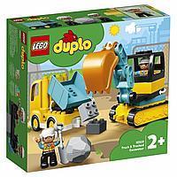 LEGO Duplo: Грузовик и гусеничный экскаватор 10931