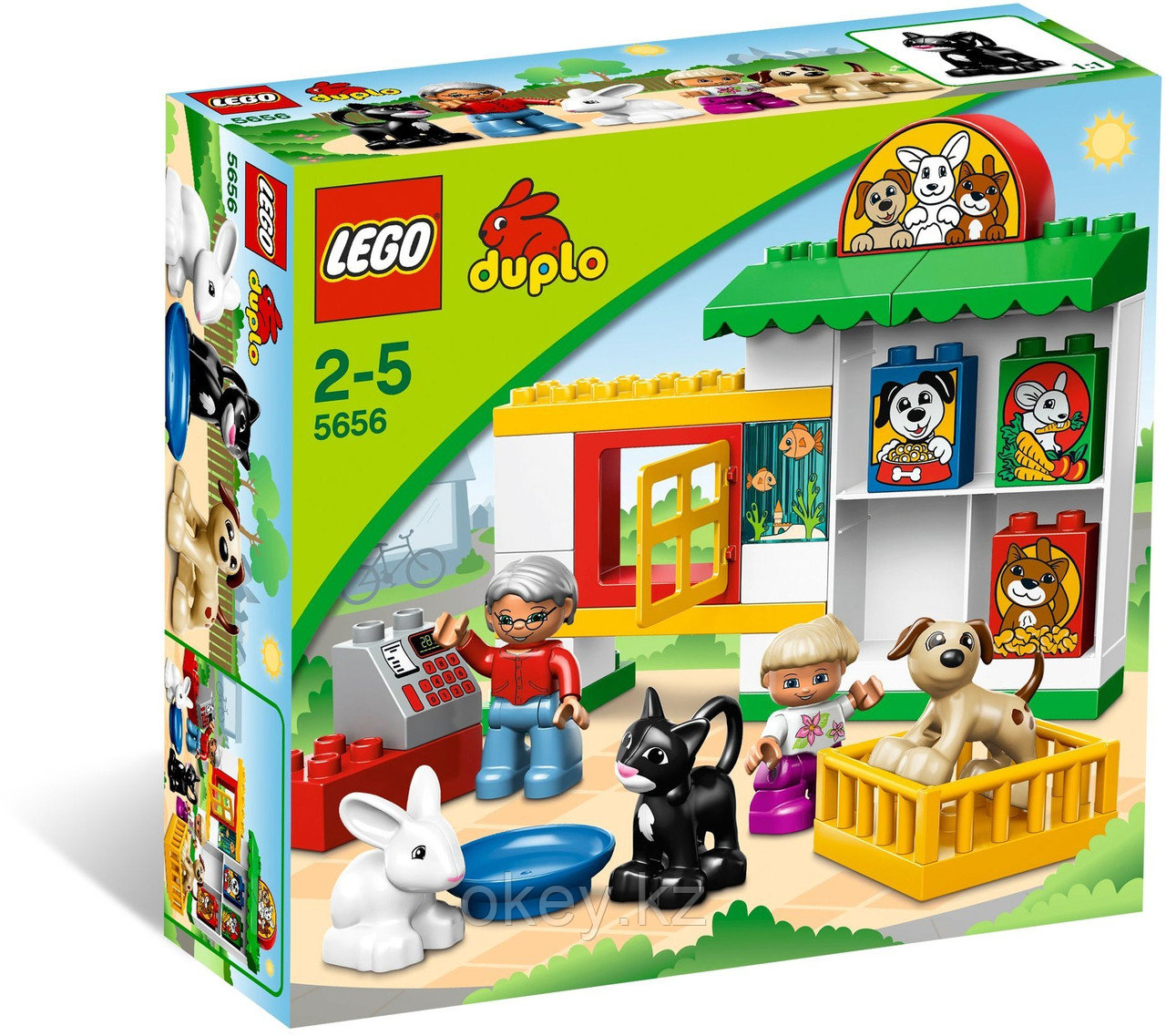 LEGO Duplo: Зоомагазин 5656